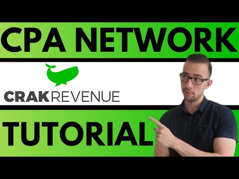 Introduction to the CrakRevenue Affiliate Network [CPA Marketing]